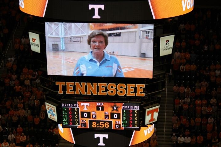 Pat Summitt had a very heartfelt message for her son Tyler during Senior Day festivities....