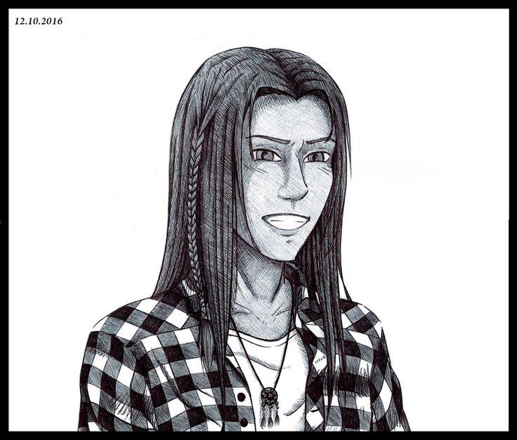 Inktober #12: Takoda (by Kei2000)