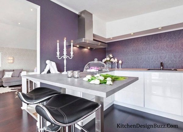 Finding Pictures Of Purple Kitchens Then Get Kitchen Interior Designing Ideas For Color Scheme
