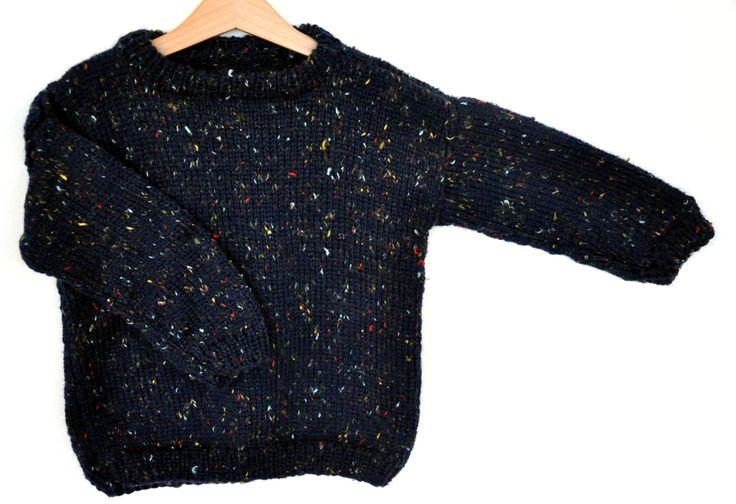Mormorrut's tweedy. Hand knitted sweater. Pattern at www.mormorrut.nu.