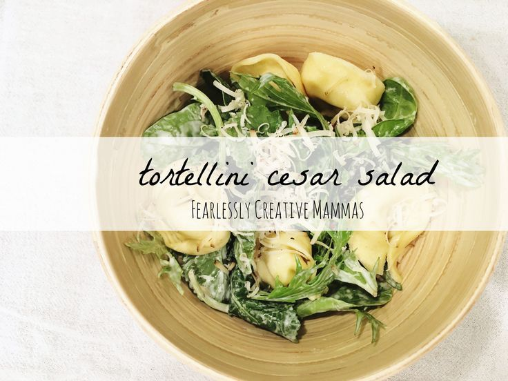 May is National Salad Month and the Foodie Extravaganza is underway sharing our favorite salad recipes. We are sharing our simple Tortellini Cesar Salad.