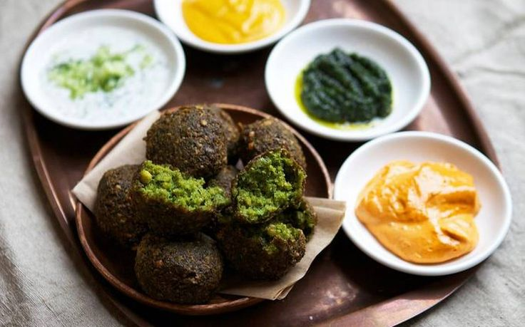 Protein-packed falafel is easy to make