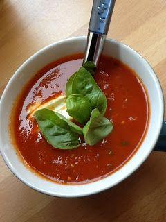 Uit mijn keukentje: Tomatensoep