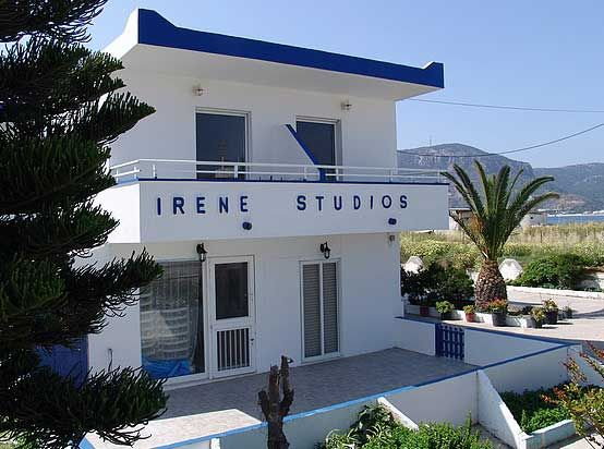Irene Studios Kefalos Kos 30 metres from the beach. Click on Book Now/More info for availability.