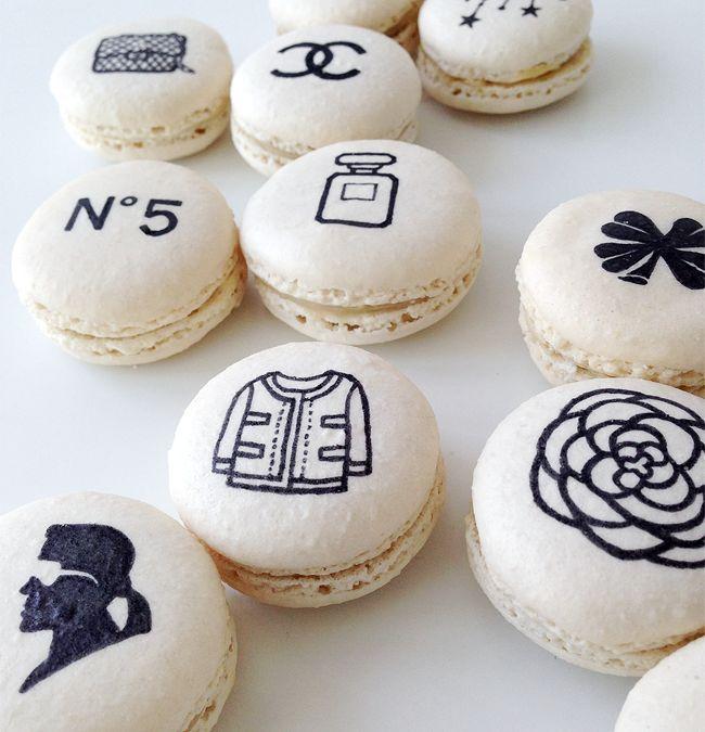 Chanel Macarons