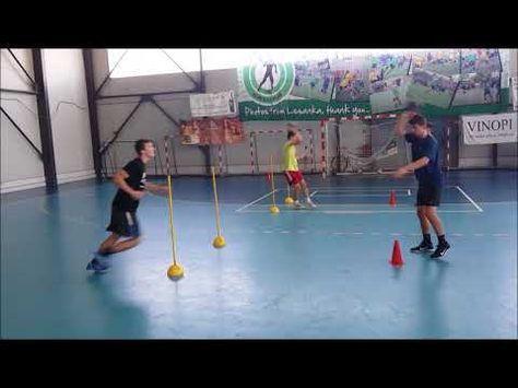 Handball pass and coordination - YouTube