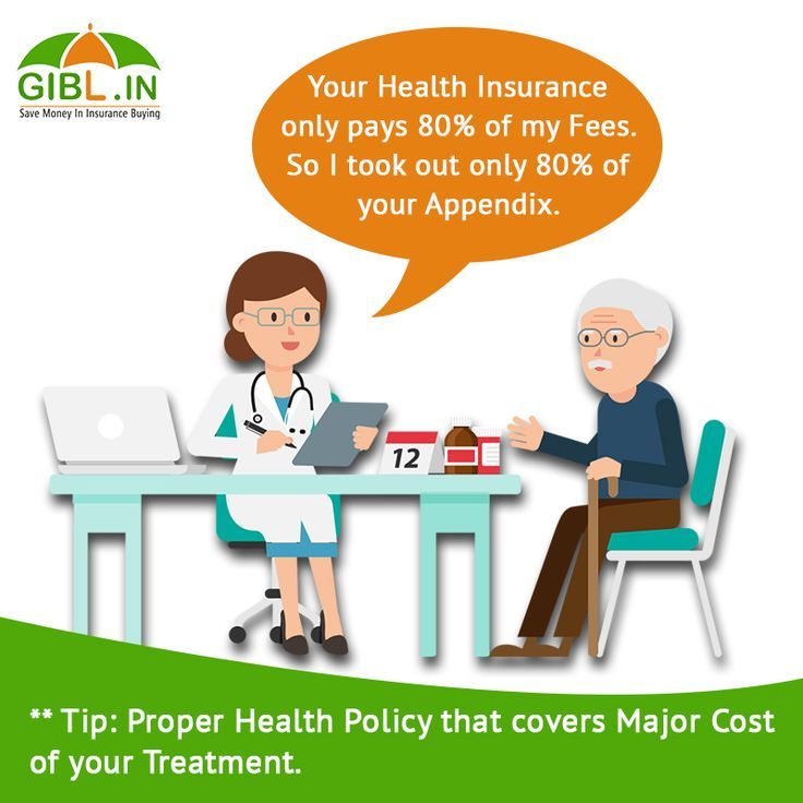 Even The Doctor Says You Must Have Full Coverage Health Insurance
