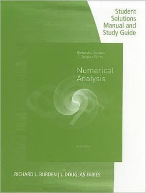 numerical analysis 9th edition pdf