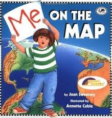 Me on the Map lesson ideas. This will come in handy since my CT asked me to teach with this book in the spring!