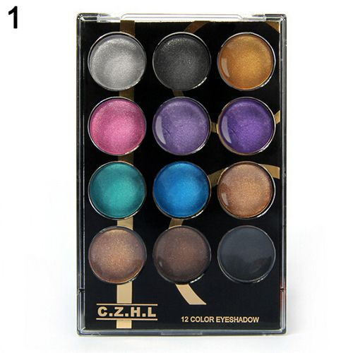 Brand Eyeshadow Palette Professional Makeup Shimmer Natural Eye Shadow 12 colors beauty Make Up Cosmetic 5I22