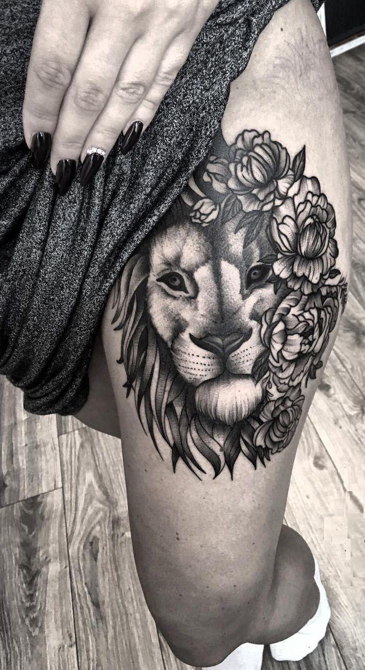 50 Eye Catching Lion Tattoos That Ll Make You Want To Get Inked Tattoos Tattoos For Women Lion Tattoo