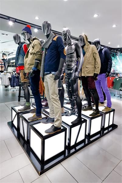 Topman Oxford St London, pinned by Ton van der Veer