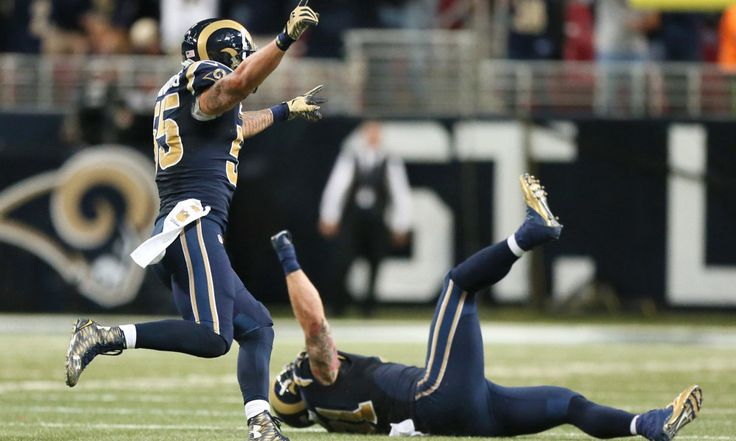 Rams cut DE Chris Long, LB James Laurinaitis, and TE Jared Cook = The Los Angeles Rams are apparently going to tear things down before building them back up, as they've cut defensive end Chris Long, linebacker James Laurinaitis, and tight end Jared Cook.  Cook stands alone as.....