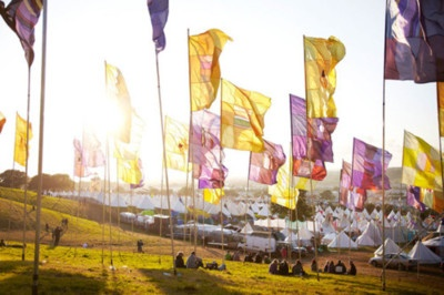 Glastonbury Festival ... it would be great to take the family there