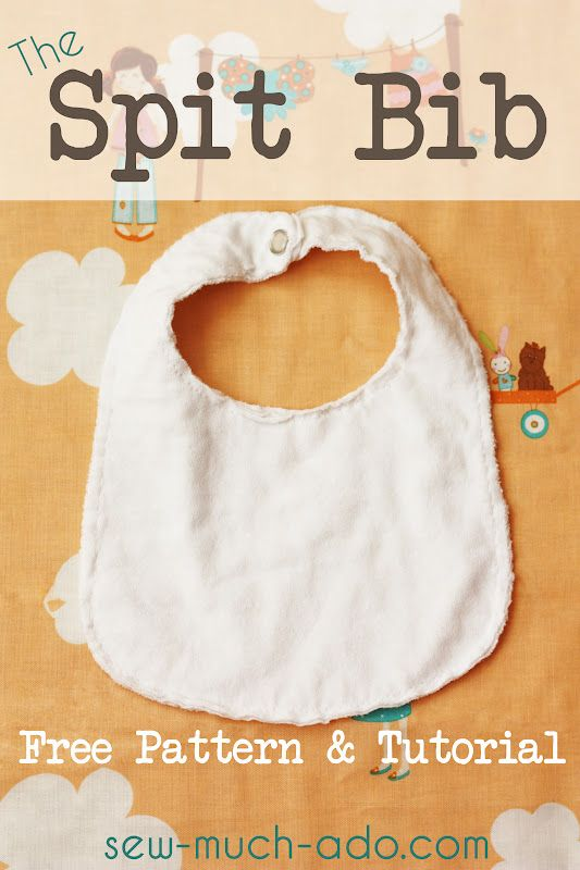 Spit Bibs Free Pattern And Tutorial Perfect For A Drooly