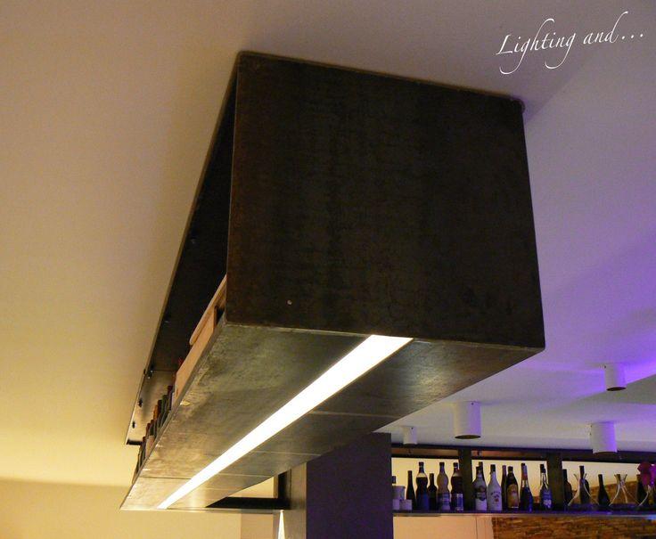 Iron + Light = Powerfull Effective Design #light #luce #iron #ferro #design #disegno #arredi #mobile #disegni #lightingand #architecture #interior #interni #architettura