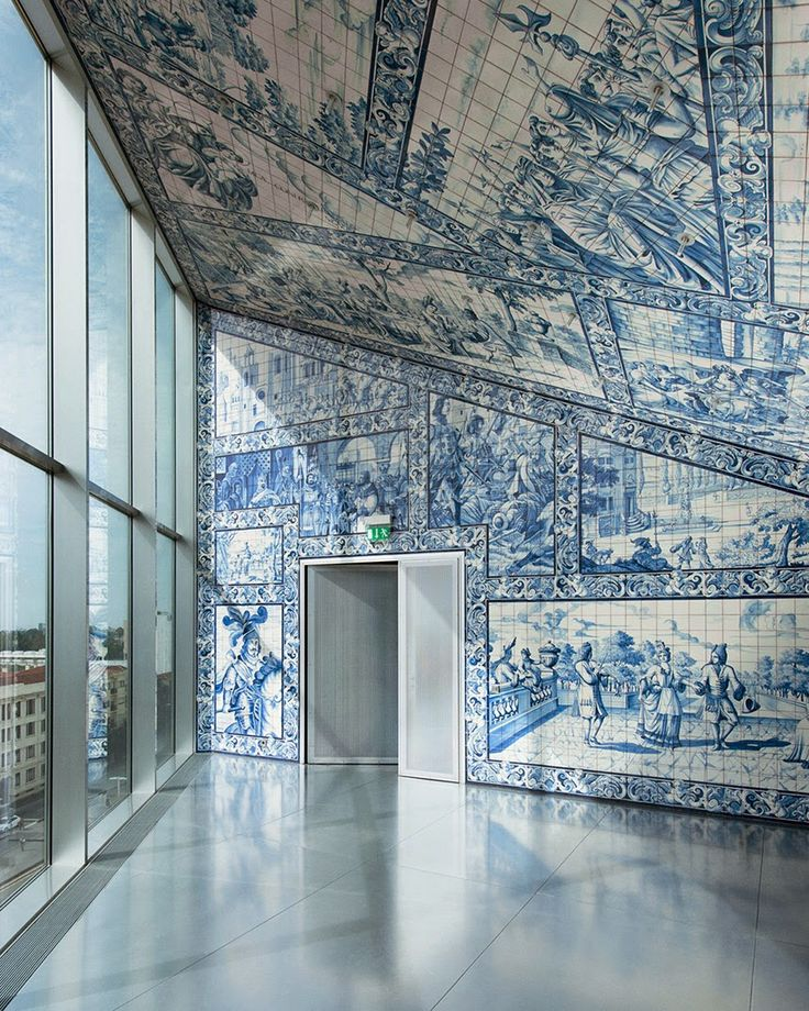 Inpiring Portuguese Tiles |Check out @bat_eye for more
