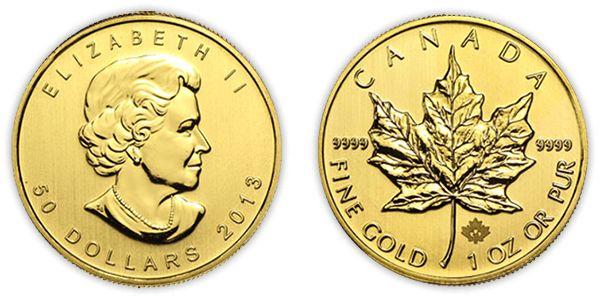 gouden maple leaf munt verkopen
