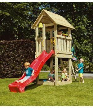 parque infantil de madera modelo torre kiosk blue rabbit br