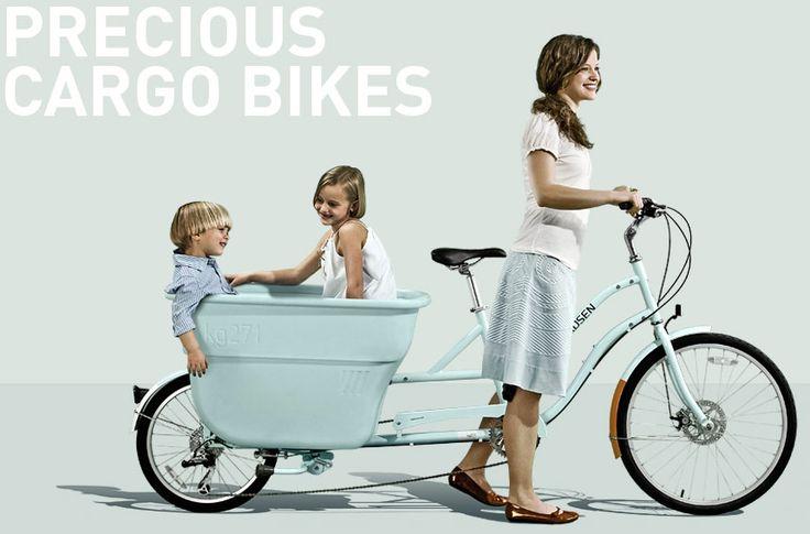 Cargo Bikes: Bicycles, Cargo Bike, Buckets, Dream, Cars, Boys, Kids, Beauty, Ducks Eggs Blue
