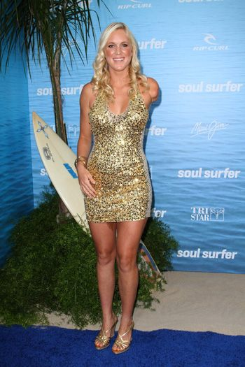 Bethany Hamilton. Committed Christian, Pro Surfer, and Shark Attack Survivor.