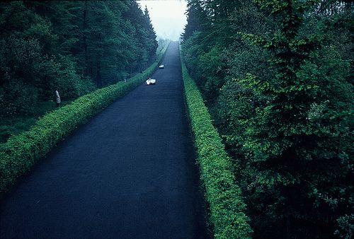 "The exciting ""straightaway"" - Nürburgring, Germany, 1960"