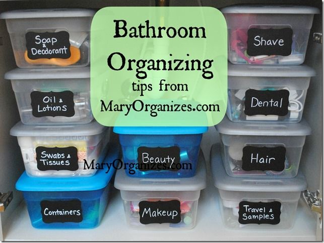 This is THE best (and affordable) way to organize small stuff. I am so proud of my bathroom cabinet now lol.