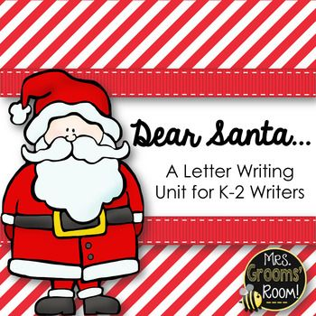 The holidayswhat a great time to learn how to write letters!! Writing Santa is not only magical but it is a great way to harness that excitement for letter writing! This set contains everything you will need to teach your lessonpencils are not included.  ;) Here in this unit you will find these tools to help you teach writing letters to Santa 1.