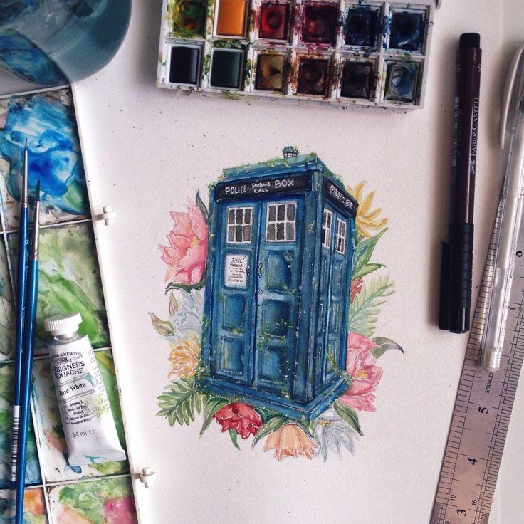 Beautiful TARDIS artwork