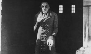 The horror, the horror … Max Schreck as Count Orlok.
