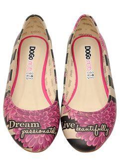 DOGO »When I Saw You« Ballerina, Vegan, rosa, rosa