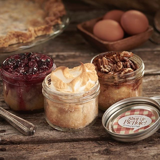 9 days and counting folks! Need a little #secretsanta #gift. The best #teacher #gift. Our #kitchen is busy making #pie goodness. Pop into our location at 1079B Autumnwood and pick up, email💌 us an order right from our website www.shuturpiehole.ca