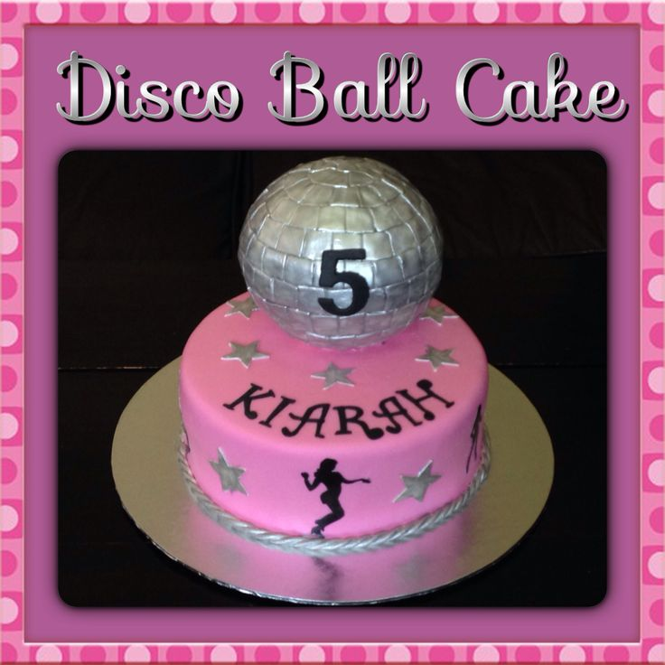 Cake Decorating Disco Ball : Disco Ball Cake Rock, Disco, Music and Dance Cakes and ...