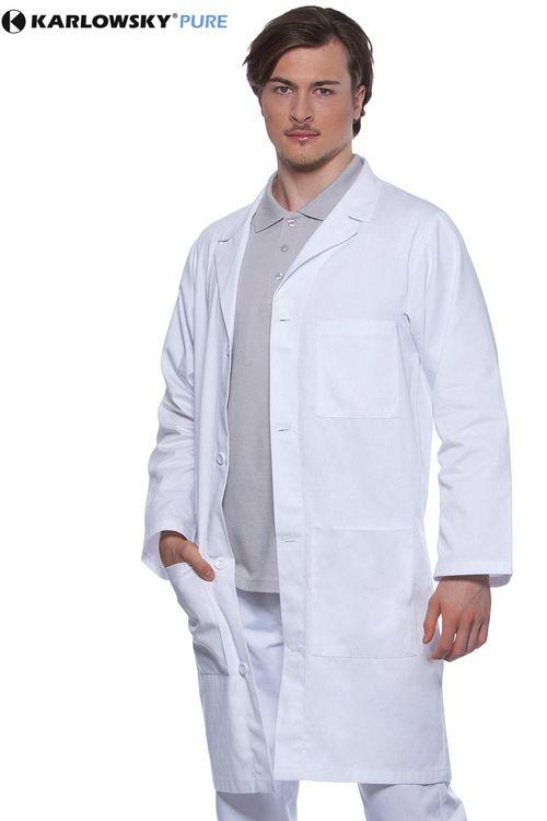 Halat medical Poly/Cotton Basic Karlowsky, se poate spăla la 60 de grade #halate #medicale #personalizate
