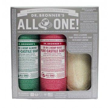 Rose Almond Pure Castile Soap Gift Set