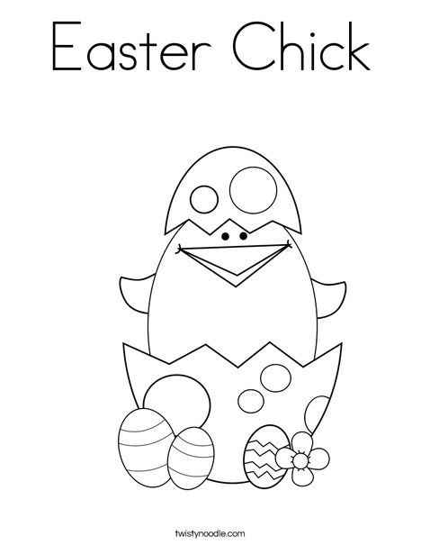 coloring easter pages spring - photo#43