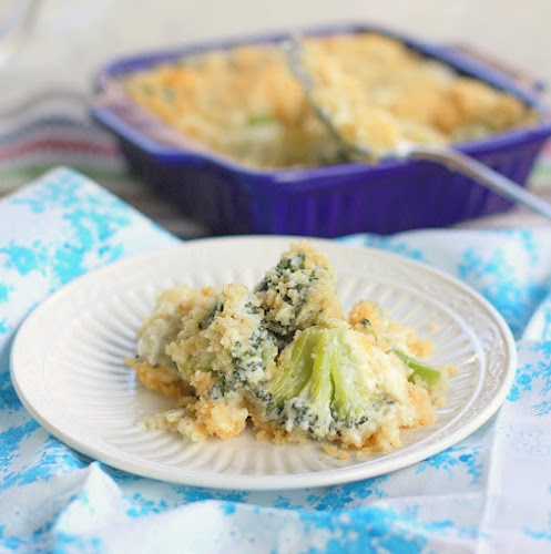 """Broccoli Blue Cheese Bake"" at ""The Girl Who Ate Everything"" - looks dee-lish!  Good side dish for Easter dinner!"