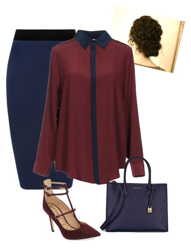 """preteeee"" by ohraee019 on Polyvore featuring WearAll, Soho de Luxe, Sam Edelman and Michael Kors"