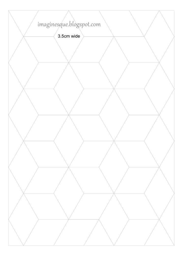 67 best hexagon quilts images on Pinterest | English paper piecing ... : quilting paper templates - Adamdwight.com
