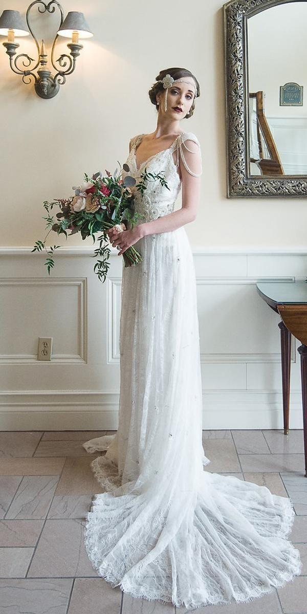 24 Vintage Wedding Dresses 1920s You Never See Modest Wedding