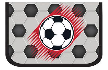 Пенал без наполнения Belmil Football 335-72/510 - заказать по привлекательной цене в интернет-магазине Канцеляркин