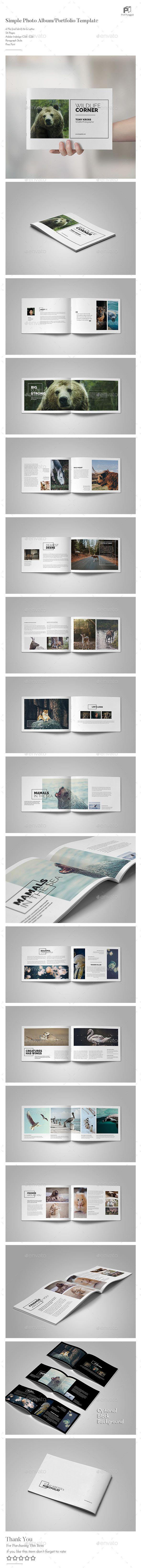 Mejores 307 imágenes de Photo Album Templates en Pinterest | Fuentes ...