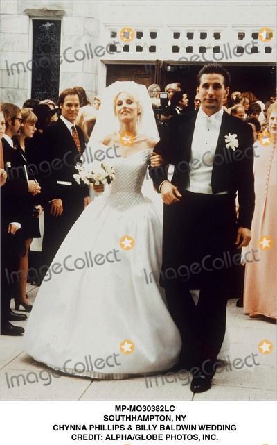 Chynna phillips and billy baldwin are a perfect example of for Jill goodacre wedding dress