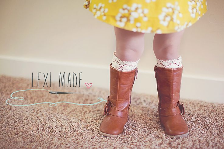 Children's Boot Socks - DIY  http://www.tybebe.com/leximade/childrens-boot-socks/