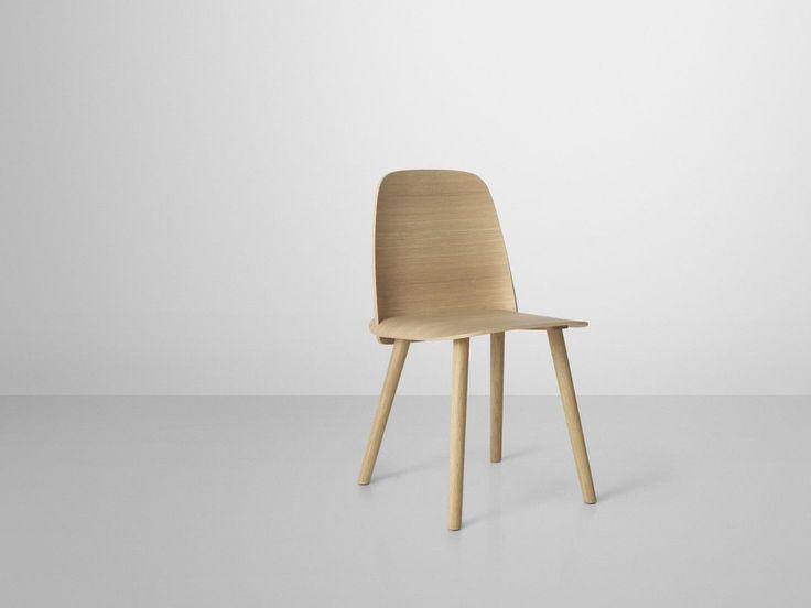 Nerd Chair Krzesło - Ikoniczne drewniane krzesło, zwycięzca Muuto Talent Award 2011 dostępne w 8 wykończeniach | ok. 1400 pln