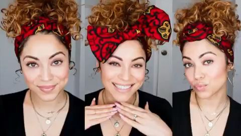 3 ways to style a shortie Headwrap from Cee Cee's Closet NYC   – Oh girl look at your hair! !