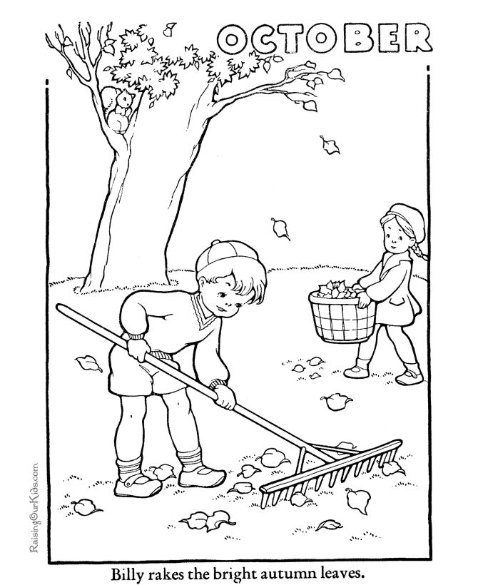 october girl leaves printable autumn coloring pages coloring sheets and pictures
