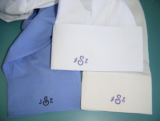 Men 39 S Dress Shirts Left Cuff Monogram Www