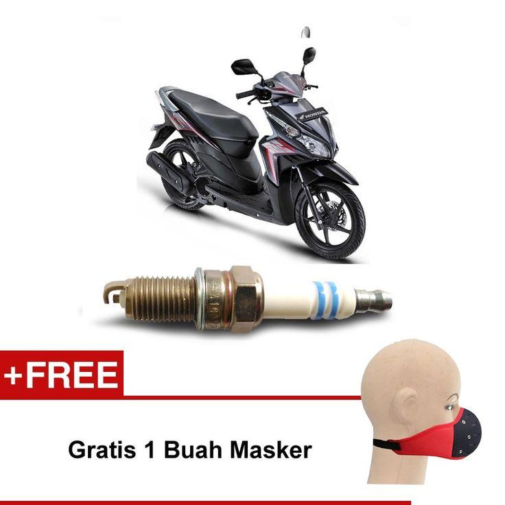 Bosch Busi Sepeda Motor Honda Vario 110 UHR3CC - Gratis Masker  Kuat & Tahan Lama, Standard Pabrikan (OE like), Tidak Cepat Kering, Busi Berkualitas ORIGINAL dari BOSCH  http://klikonderdil.com/busi-motor/1223-bosch-busi-sepeda-motor-honda-vario-110-uhr3cc-gratis-masker.html  #bosch #busi #busimotor #busiterbaik #hondavario
