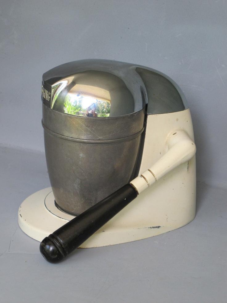 Vintage Juice King Juicer / Aluminum Cast Body Streamlined Chrome Top U0026  Aluminum Cup, Industrial